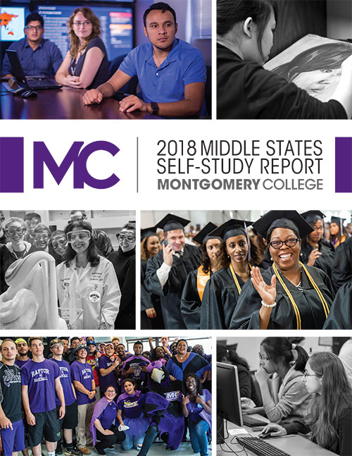 Middle States 2018 Self Study  Report Cover