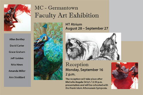 MC Germantown Faculty Art Exhibition