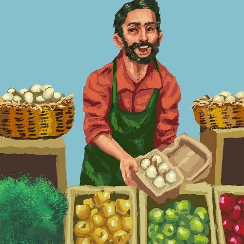 """Participant Observation: Food Culture at Farmers Markets"" by Sanjiv Geeban"