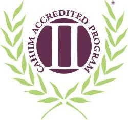 CAHIM Accreditation Seal