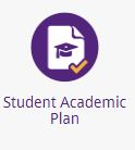 student academic plan icon