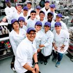 Chef Edgar Hernandez and his Food Production Class, Spring 2019