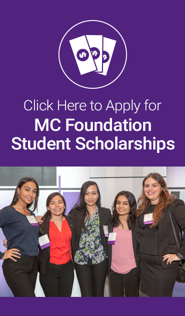 Apply for MC Foundation Scholarships