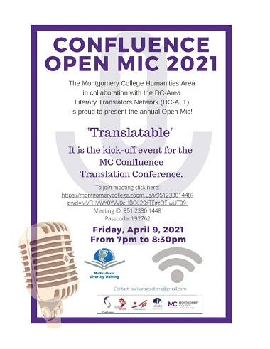 Open Mic 2021 event