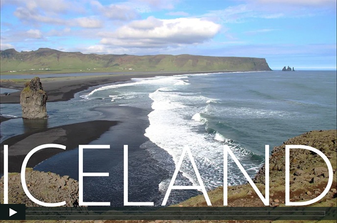 Amalie Elfallah's video production of Iceland