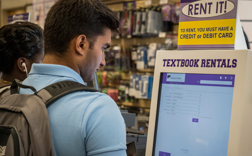 Renting books is easy!