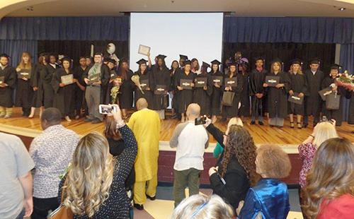 GED recognition ceremony