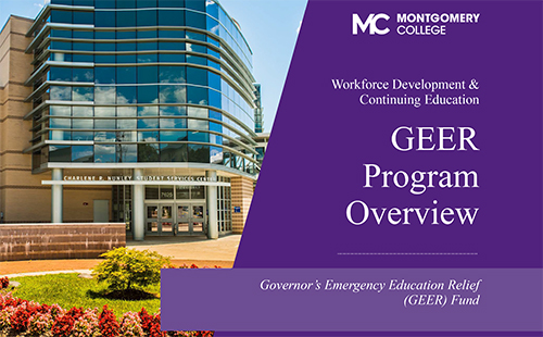 GEER Governor's Emergency Education Relief Fund