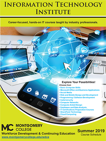 Information Technology Institute Summer 2019 Brochure Cover