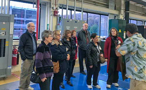 Lifelong Learners visit NIST