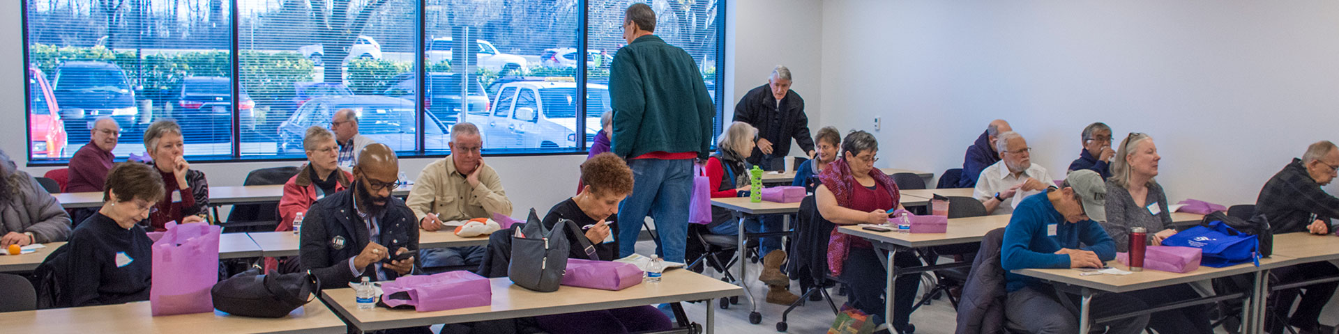 Lifelong Learning classes for age 50+ learners at Montgomery College, Maryland
