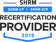 SHRM Recertification Provider Logo 2019