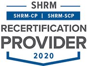SHRM Recertification Provider Logo 2020
