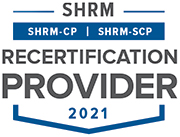 SHRM Recertification Provider 2021