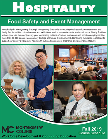 Hospitality and Event Management fall 2019