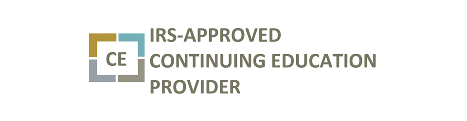 IRS Approved Continuing Education Provider logo